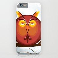 Otis The Owl On A Tuesda… iPhone 6 Slim Case