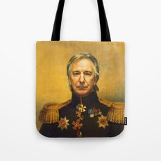 Alan Rickman - replaceface Tote Bag