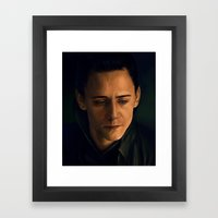 Prince of Asgard Framed Art Print