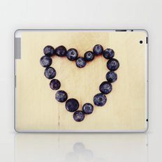 blueberry heart Laptop & iPad Skin