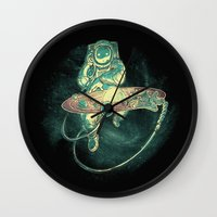Scratch the Universe Wall Clock