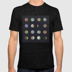 DOTS II Mens Fitted Tee Tri-Black SMALL