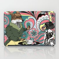 Crow Serie :: The Crow & The Fox (after Lafontaine's Fable) iPad Case