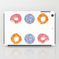 doughnut selection iPad Case