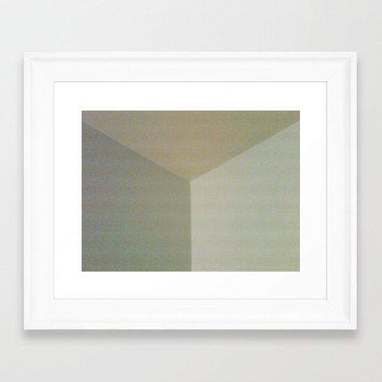 soft corner Framed Art Print