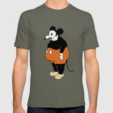 Mickey Da Rat Mens Fitted Tee Lieutenant SMALL