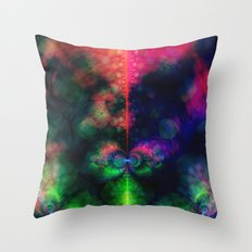 Fractal Space Throw Pillow