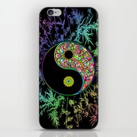 Yin Yang Bamboo Psychedelic iPhone & iPod Skin