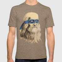 Leo TMNT Mens Fitted Tee Tri-Coffee SMALL