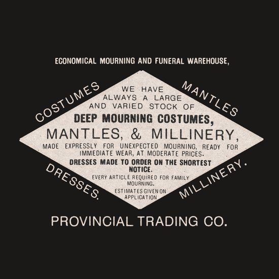 Economical Mourning and Funeral Warehouse  Canvas Print