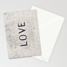 Love Stone Photography - Love Carved in Stone - Zen Meditation Art Stationery Cards