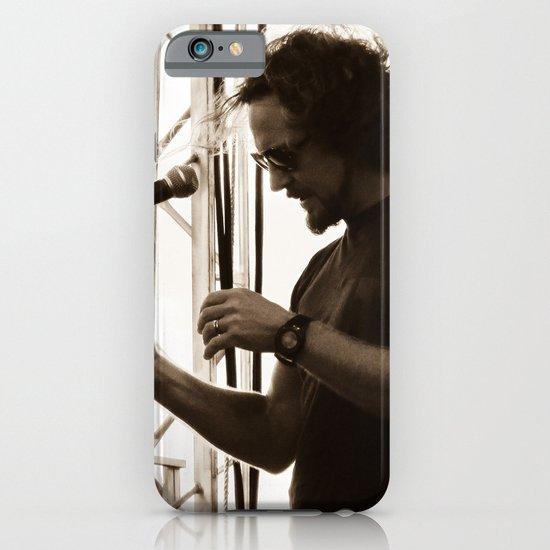 Vedder - Pearl Jam 20 Festival iPhone & iPod Case