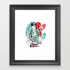 antidote Framed Art Print