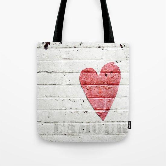 L'amour  Tote Bag