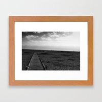 Dungeness 4 Framed Art Print