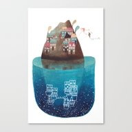 Canvas Print featuring Island III by Gemma Capdevila