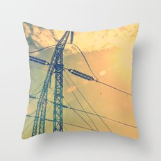 Holding The Power Throw Pillow