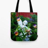 Floral Fae Tote Bag
