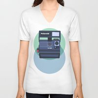 Paper Cups and Nervous Hiccups  Unisex V-Neck