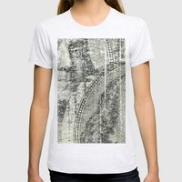 DOLLAR$ and SENSE Womens Fitted Tee Ash Grey SMALL
