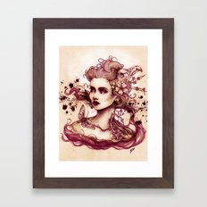 Sanguina Framed Art Print