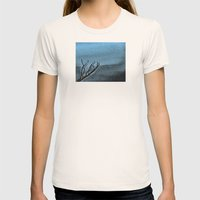 Hunted Branch Womens Fitted Tee Natural SMALL