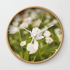 Tiny Flower Wall Clock