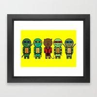 TMNT Framed Art Print