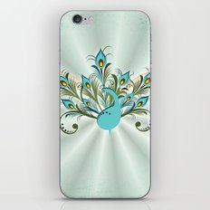 Just a Peacock iPhone & iPod Skin