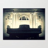 Capitol Music Hall Canvas Print