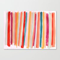 Stripes I Canvas Print