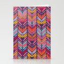 Tribal Chevron Stationery Cards