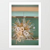 Ivory Towers Art Print