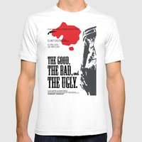 The Good, The Bad and The Ugly Mens Fitted Tee White SMALL