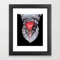 Til Death Framed Art Print