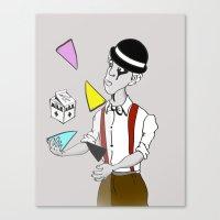 Alex DeLarge InQuadri Canvas Print