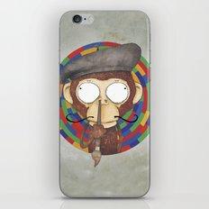 Monkey Artist iPhone & iPod Skin