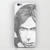 Iggy Pop - Sketch iPhone & iPod Skin