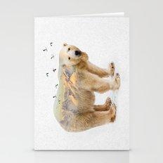 Wild I Shall Stay   Polar Bear Stationery Cards