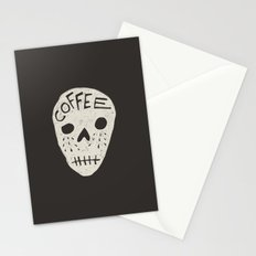 COFFEE DEATH Stationery Cards