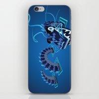 Dragon - Water iPhone & iPod Skin