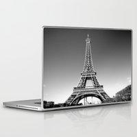 eiffel Laptop & iPad Skins featuring eiffel by Michelle Loidl