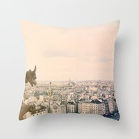 Pastel Daydreams Throw Pillow
