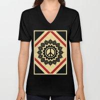 Peace Mandala Unisex V-Neck