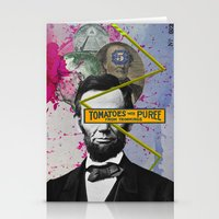 Public Figures -  Lincoln Stationery Cards
