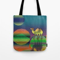 Pop Camel Tote Bag