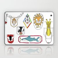 Animals head plaques Laptop & iPad Skin