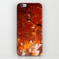 engulfed in flame iPhone & iPod Skin