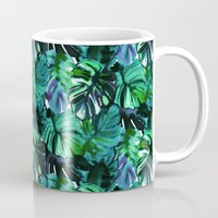 Welcome to the Jungle Palm electric green Mug