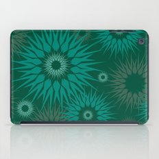 Dark Spiky Burst iPad Case